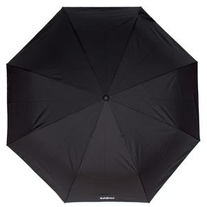 Черный зонт складной Baldinini 5691-OC Major Black фото-2