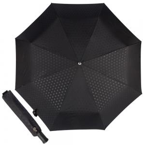 Зонт складной Bugatti 743069-OC Stamp Black фото-1