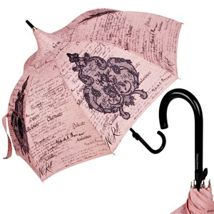 Зонт-трость Chantal Thomass Pagode Lettre Rose long 868 фото-1