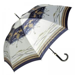 Зонт-трость Emme M329D-LA LaHermes Atlas Bianco фото-1