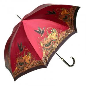 Зонт-трость Emme M329E-LA King SecretAtlas Bordo фото-1