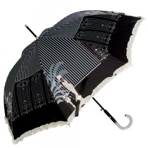 Зонт-трость Emme M382B-LA Fashion Nero фото-1