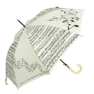 Зонт-трость Emme M389A-LA Linea Music Beige фото-1