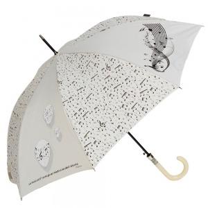 Зонт-трость Emme M389B-LA Boll Music Beige фото-1