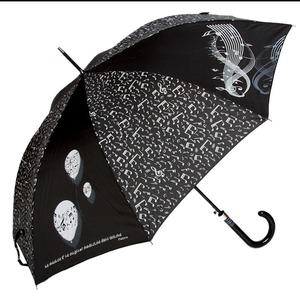 Зонт-трость Emme M389B-LA Boll Music Nero фото-1