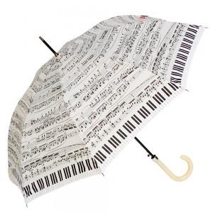 Зонт-трость Emme M391-LA Love Piano Beige фото-1