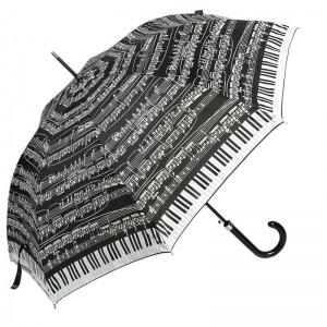 Зонт-трость Emme M391-LA Love Piano Nero фото-1