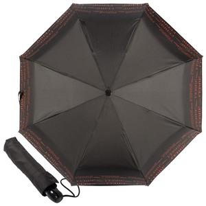 Зонт складной Ferre 6014-OC Line Black фото-1