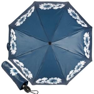 Зонт складной Ferre 6024-OC Daizy Blu фото-1