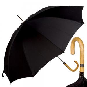 Зонт-трость Ferre 3043M-LA Manila Black фото-1