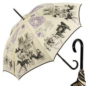Зонт-трость GDJ 1011-LA NotreDame Crema long фото-1