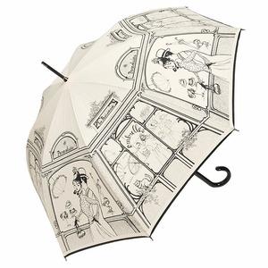 Зонт-трость Guy De Jean Boutique Crema long фото-1