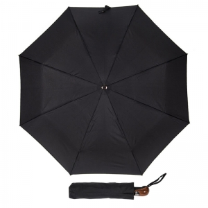 Зонт складной Guy De Jean 4600-OC Demi Noir фото-1