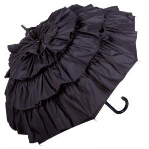 Зонт-трость Guy De Jean 888-LM Can Can Noir фото-1