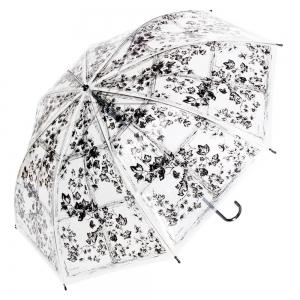 Зонт-трость прозрачный Guy De Jean Frivole La Liste long фото-1