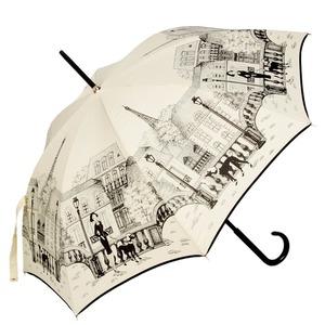 Зонт-трость Guy De Jean 1902-LM Paris crema long фото-1