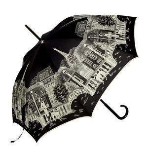 Зонт-трость Guy De Jean 1902-LM Paris Noir long фото-1