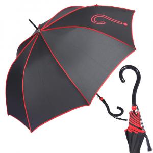 Зонт-Трость Joy Heart J9487-LA Question Black/Red фото-1