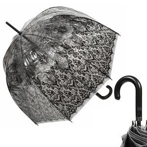 Зонт-трость прозрачный Jean Paul Gaultier 878-LM Transparent фото-1