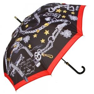 Зонт-трость Moschino 266 63AUTOA Punk Chic long фото-1