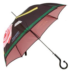 Зонт-трость Moschinoт 268-61AUTOA Shining Beauty long Black фото-1