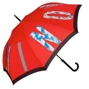 Зонт-трость Moschino 387-63AUTOC Photo Moschino long Red фото-1
