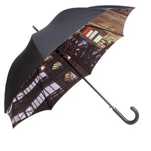 Зонт-трость Moschino 481-D67 Auto A Station фото-1
