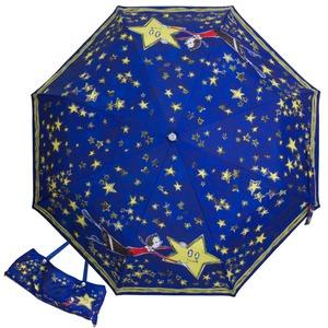 Зонт складной Moschino 7036-OCF Olivia Stars Blue фото-1