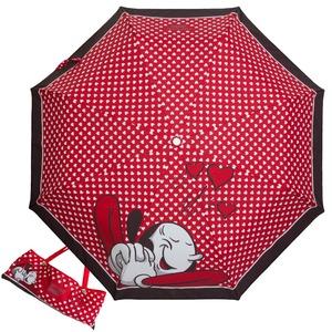 Зонт складной Moschino 7051-OCC Olivia In Love Red фото-1