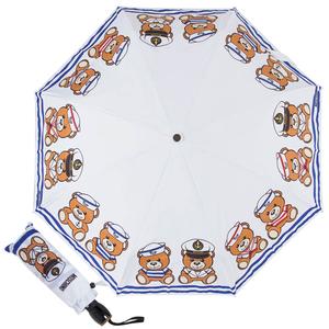 Зонт складной M 8001-OCB Sailor Bear White фото-1