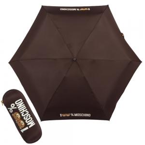 Зонт складной Moschino 8071-SuperminiQ 100% Moschino Purple фото-1