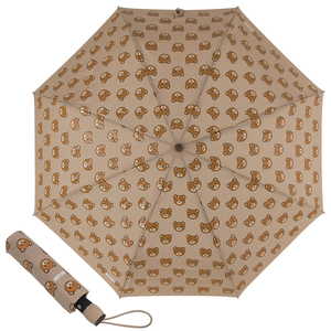 Зонт складной M 8085-OCD Teddy Heads Beige фото-1