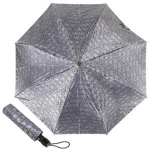 Зонт складной M 8190-OCL Jacquard Grey фото-1