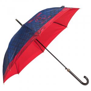 Зонт-трость Moschino 8249-63AUTOA Matelasse Blue фото-3