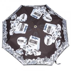 Зонт складной Moschino 8260-OCA Shopping Cartss Multi  фото-2
