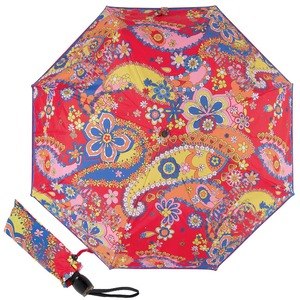 Зонт складной M 8264-OCC Paisley Red Multi фото-1