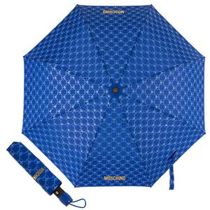 Зонт складной M 8270-OCF QM All-Over Blue фото-1