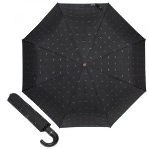 Зонт складной Moschino 8511-TOPLESSA Pois Logo Black фото-1