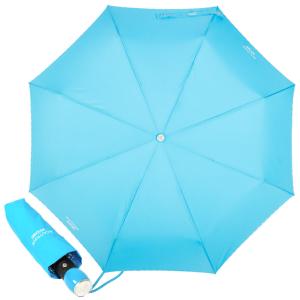 Зонт складной Moschino 7000-OCP Embroidery Azzurro фото-1