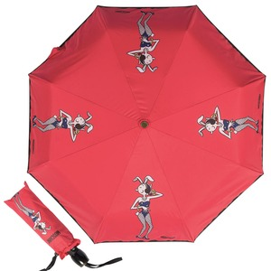 Зонт складной Moschino 8104-OCC Olivia Playboy Red фото-1