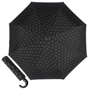 Зонт складной Moschino 8505-ToplessA Man dots Black фото-1