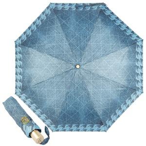 Зонт складной M&P C5873-OC Denim Dark фото-1