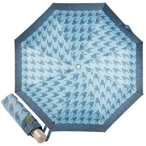 Зонт складной M&P C5873-OC Denim Pepita фото-1