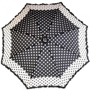 Зонт-трость Ferre Woman Pois Nero фото-2