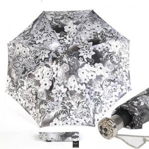Зонт Складной Pasotti Auto Novita Bianco Lux фото-1
