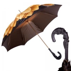 Зонт-трость Pasotti Anzi Georgin Giallo Pelle фото-4