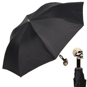 Зонт складной Pasotti Auto Capo Osso Grid Black фото-1