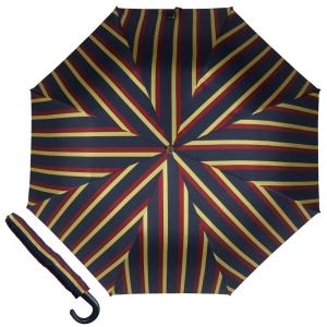 Зонт складной Pasotti Auto Classic Pelle Alfred Yellow фото-1