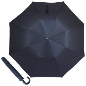 Зонт складной Pasotti Auto Classic Pelle Oxford Blu фото-1