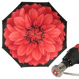 Складной зонт Pasotti Auto Georgin Rosso Lux фото-1